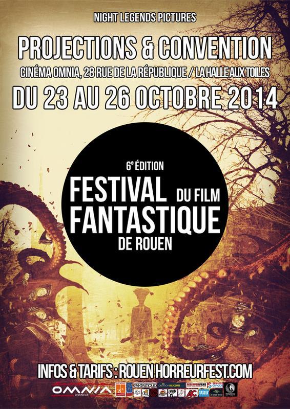 Festival du film fantastique de Rouen (6ème édition)