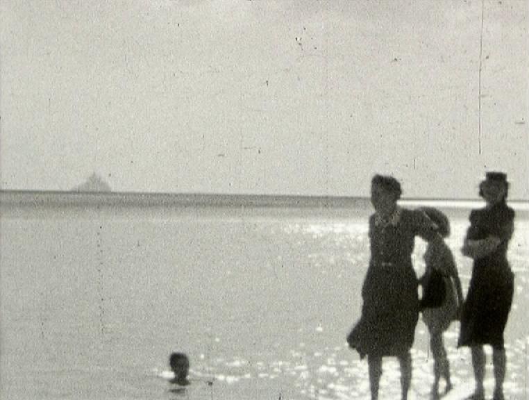 Photogramme issu du film amateur : « Le Gué de l'Epine