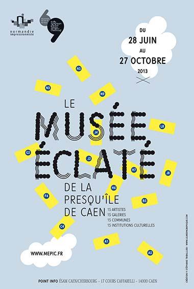 Le Musée éclaté de la presqu'île de Caen