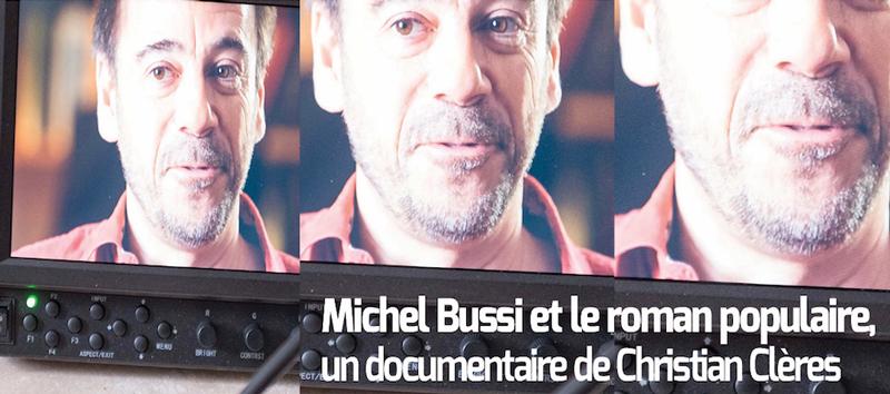 Michel Bussi et le roman populaire