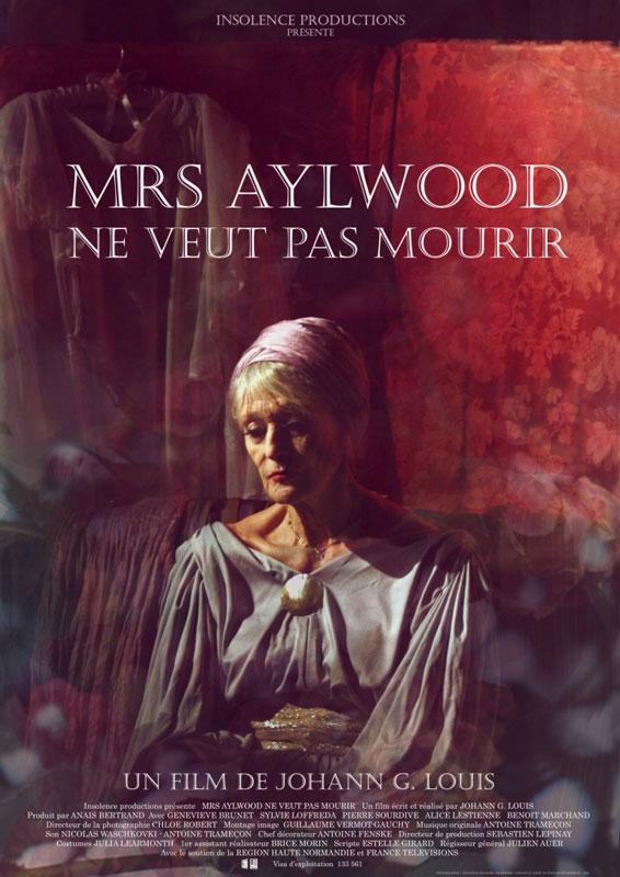 Mrs Aylwood ne veut pas mourir, court métrage de Johann Gasnereau Louis.