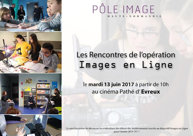 Rencontres Images en ligne 2016-2017