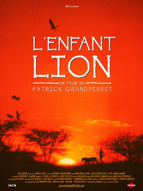 Affiche de l'Enfant Lion