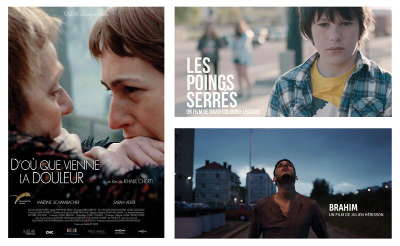 Programme de 3 courts métrages