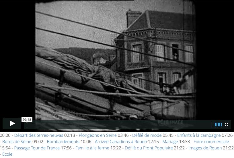 Les 14 extraits de films d'archives
