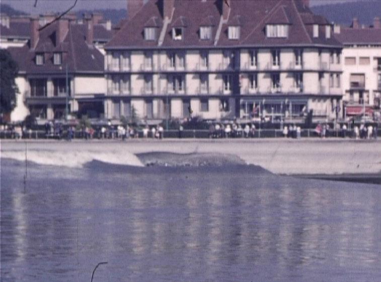 « Aspects du Mascaret de Seine, 1947 à 1965 » de Robert Dasché, film 16mm, muet