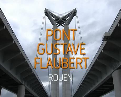 Vues du pont Gustave Flaubert