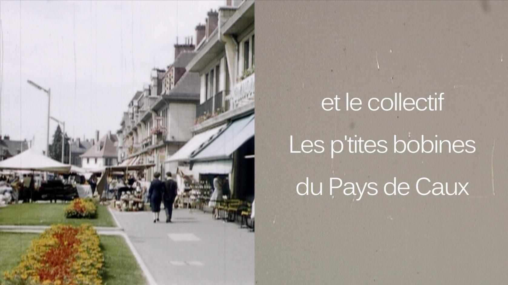 Fête gymnique place de l'Ourail à La Londe, extrait du film « Fête / Canadiens » de Roger Grenier, 1946, 9,5mm ©Pôle Image Haute-Normandie